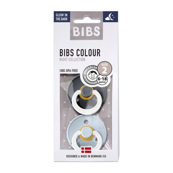 Bibs nummer 3 Baby Blue/Iron