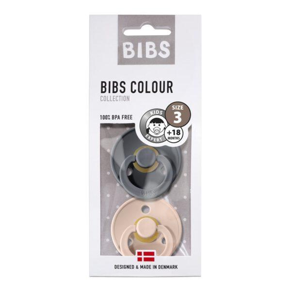 Bibs nummer 3 Iron/Blush