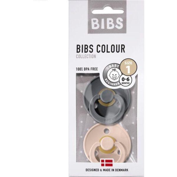 Bibs nummer 1 Iron/Blush